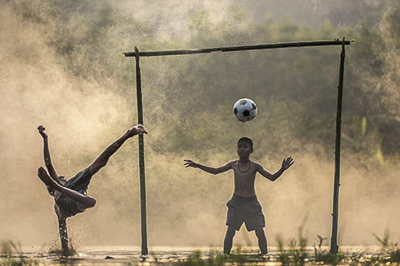Futbolcu Olma Hayali Kuran Cocuklar